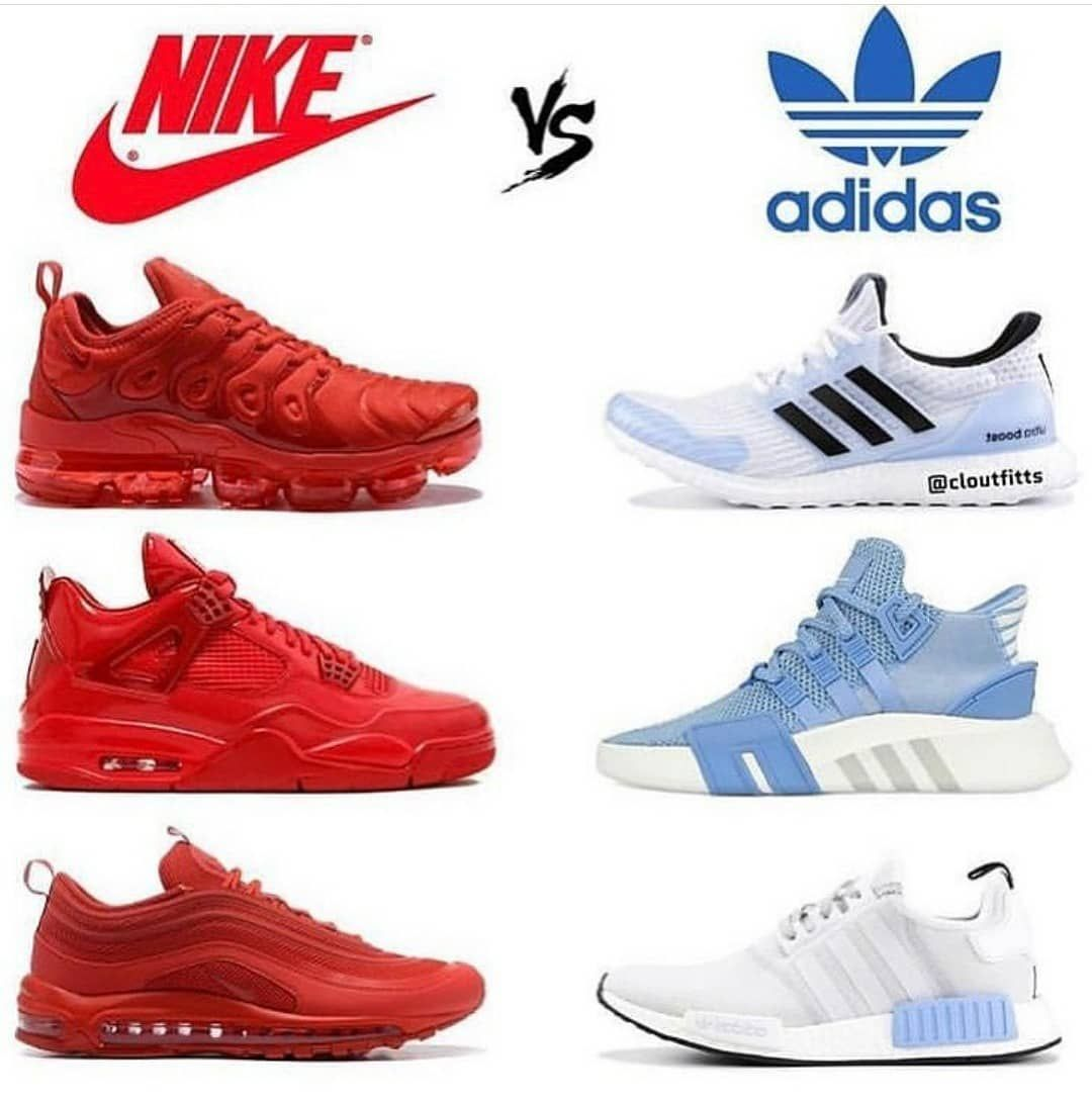 compared do chaussures fit to nike how adidas iOPXuZk