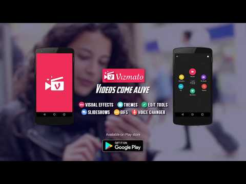 Vizmato – Video Editor & Slideshow maker! - Apps on Google Play in 2020 | Creative video, Video maker, Best android games