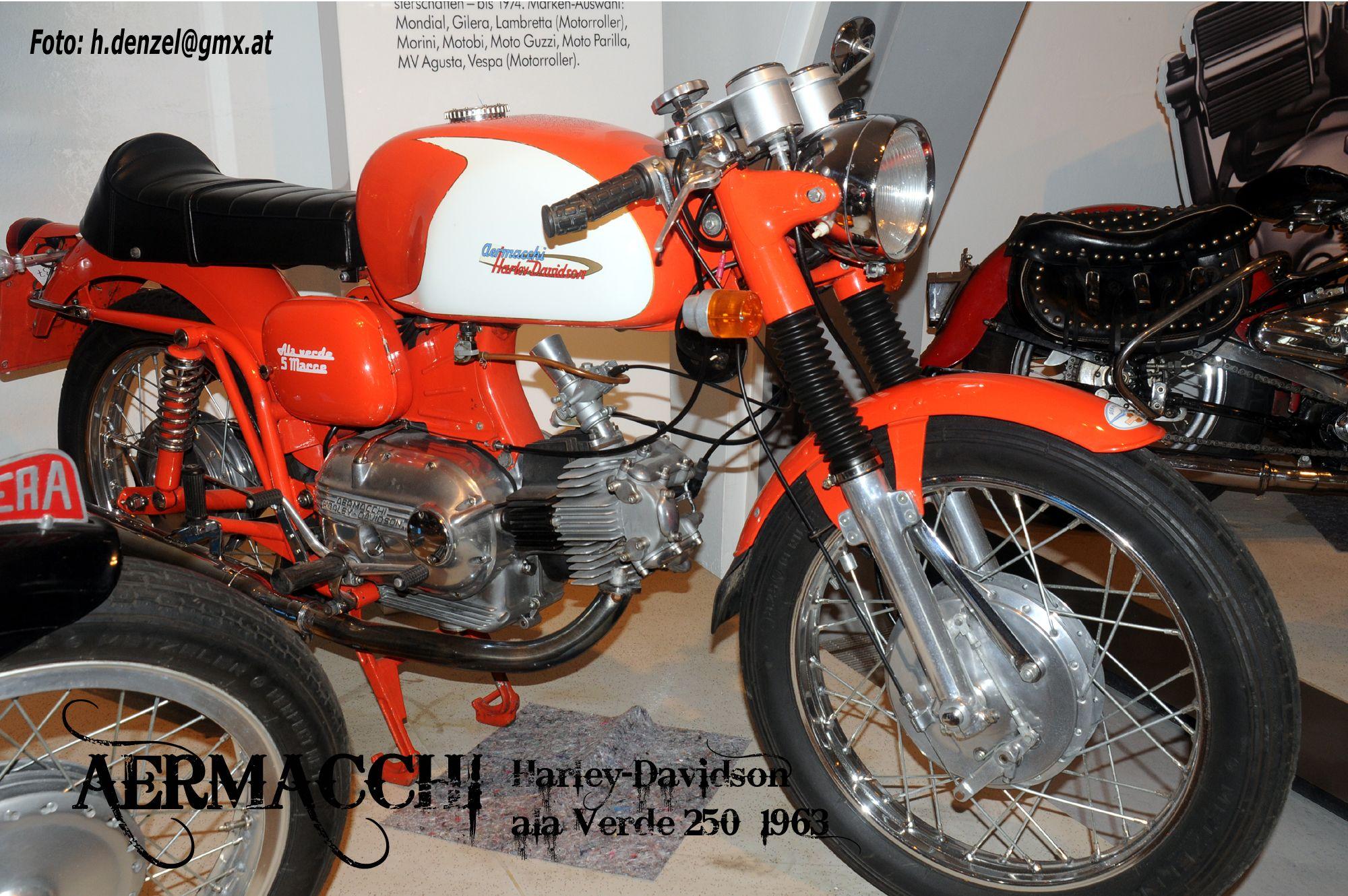 Aermacchi-Harley Davidson ala Verde 250 1963 | Aermacchi