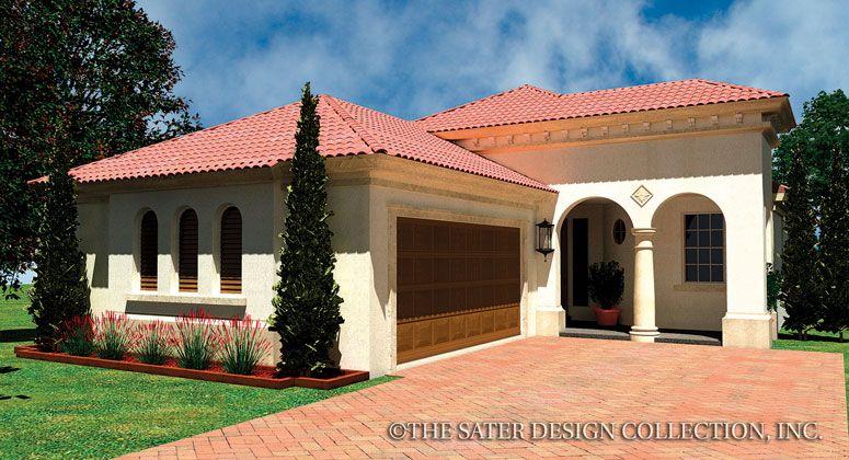 Como house plan for Small mediterranean house