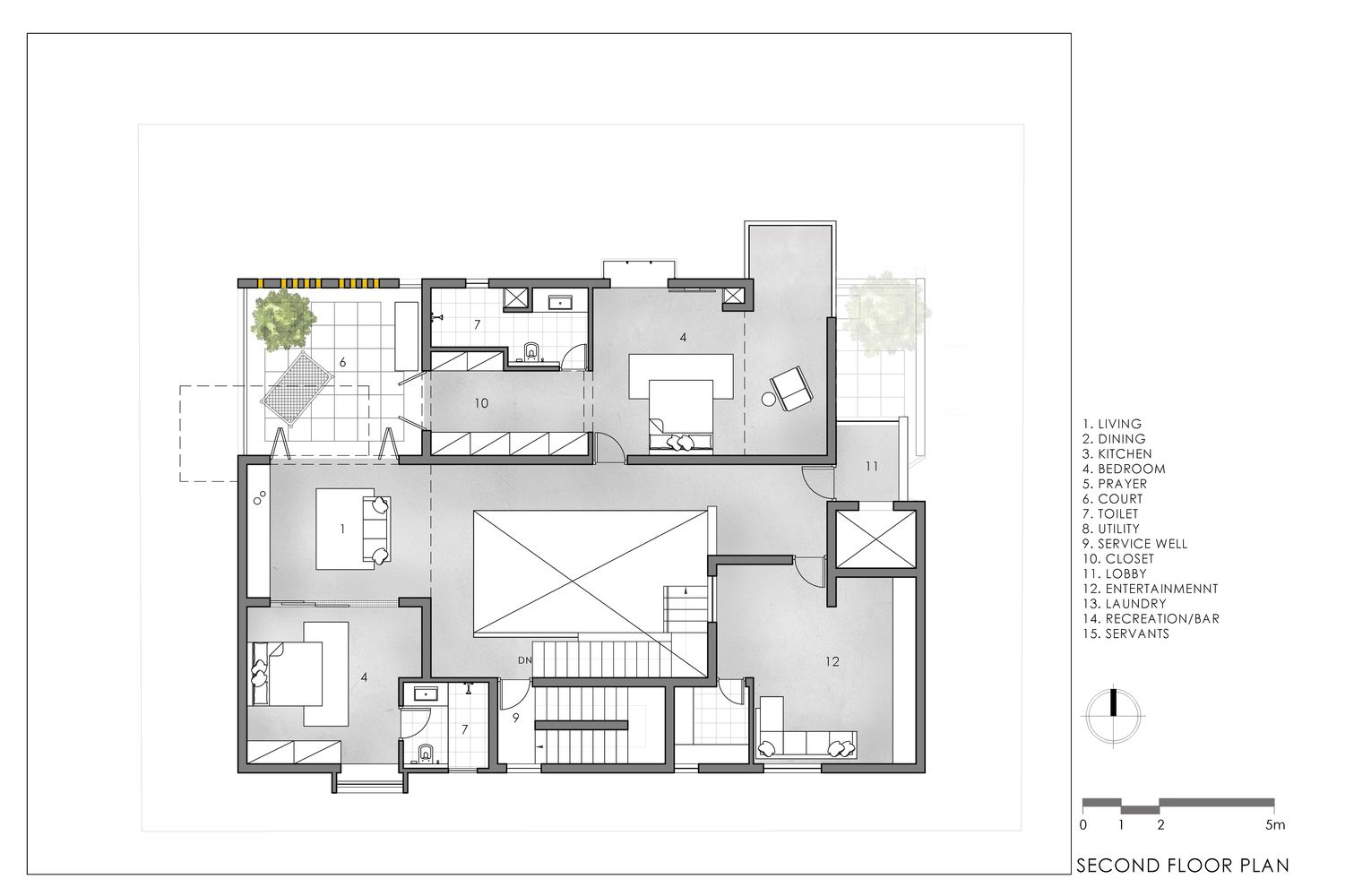 Gallery Of Never Apart Ment Spacefiction Studio 49 Apartment Architecture Floor Plans Clay Roof Tiles