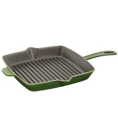 Staub 12 Square Cast Iron Grill Pan Electric Grilling