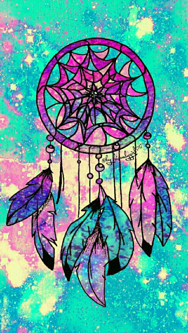 Dreamcatcher galaxy iPhone/Android wallpaper I created for ...