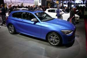 bmw introduced the m135 xdrive model on the paris motor