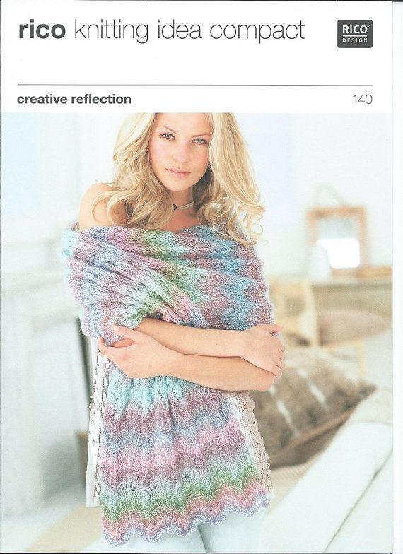 Rico Easy knitting pattern 140  Knitting by HandmadeLCreations