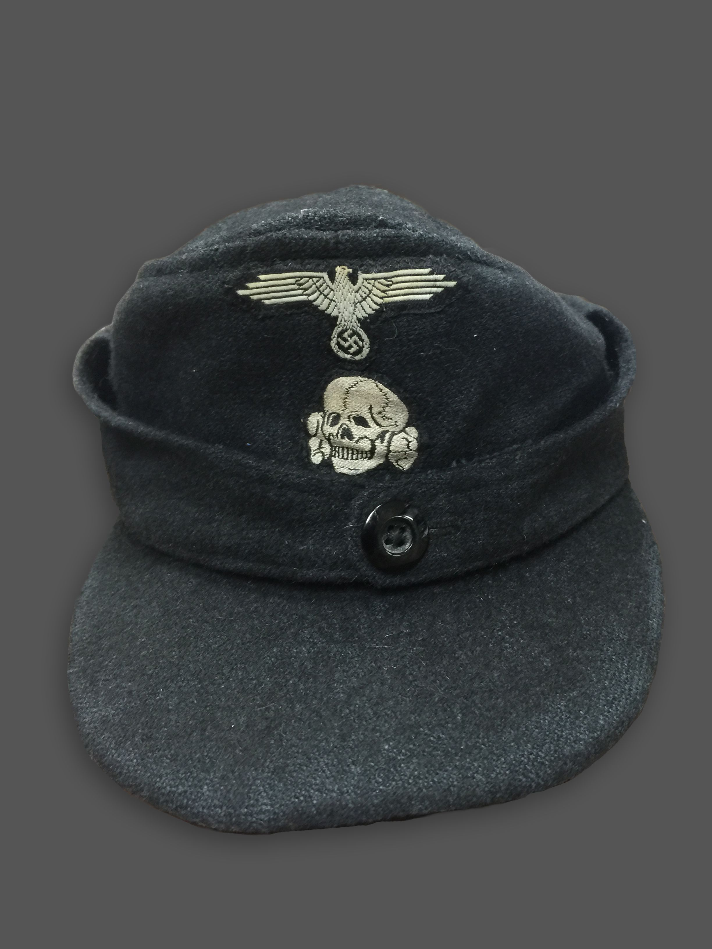 """The M43 Field Cap Or """"Einheitsmütze"""" Was A Cap Used By The"""