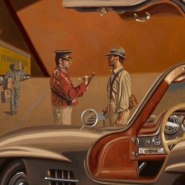 Detail From Glory Days By Peregrine Heathcote 1900 Art