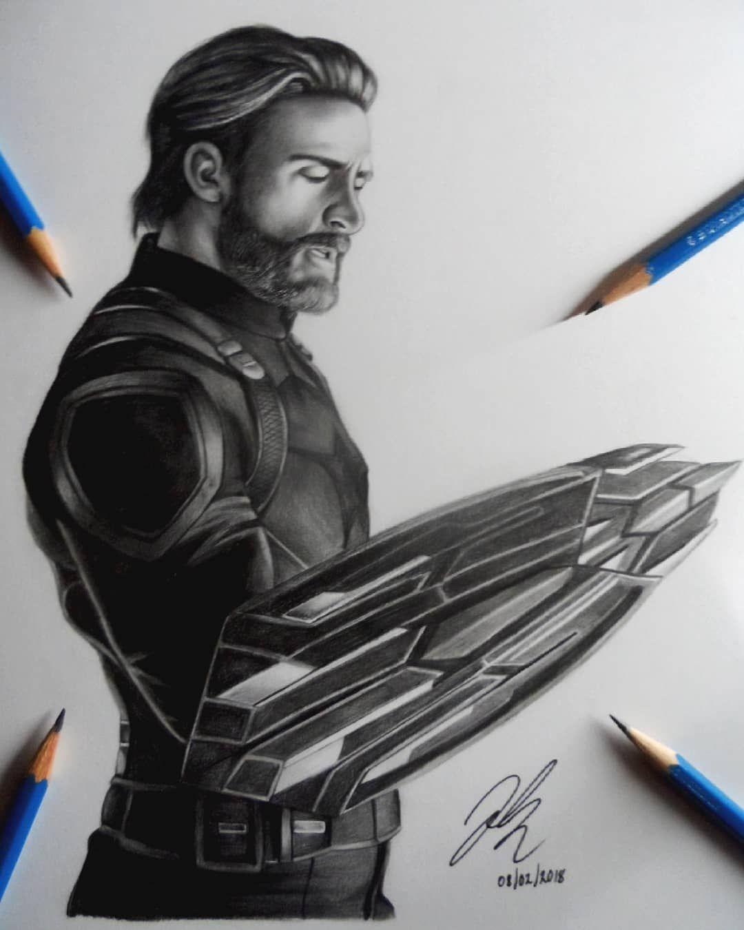 Steve Rogers A K A Captain America Avengers Infinity War Made