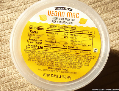 Trader Joe S Vegan Mac Trader Joes Vegan Trader Joes Vegan Mac And Cheese