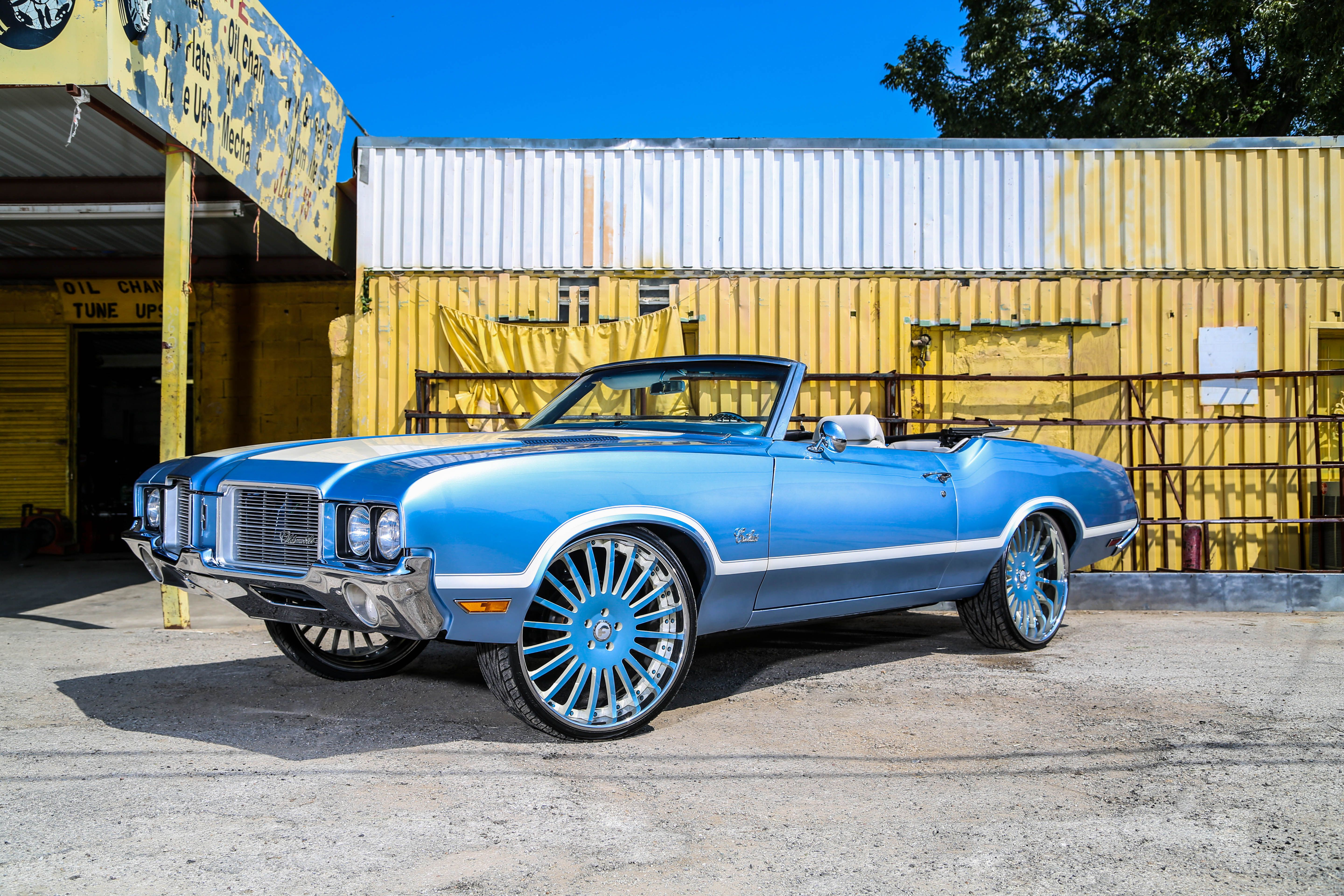 Oldsmobile cutlass on forgiato andatas rides magazine