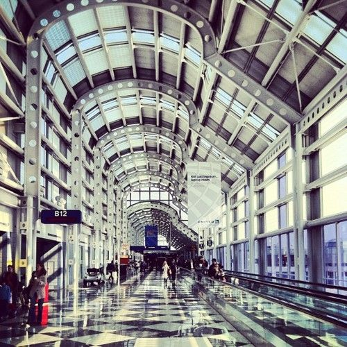 Ohare Airportchicago Illinois Didnt Get On A Plane But Was - Airports in illinois