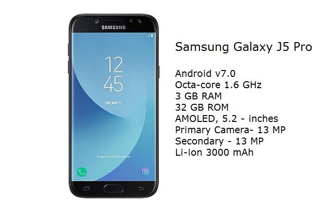 Samsung Galaxy J5 Pro Full Specifications and Price details