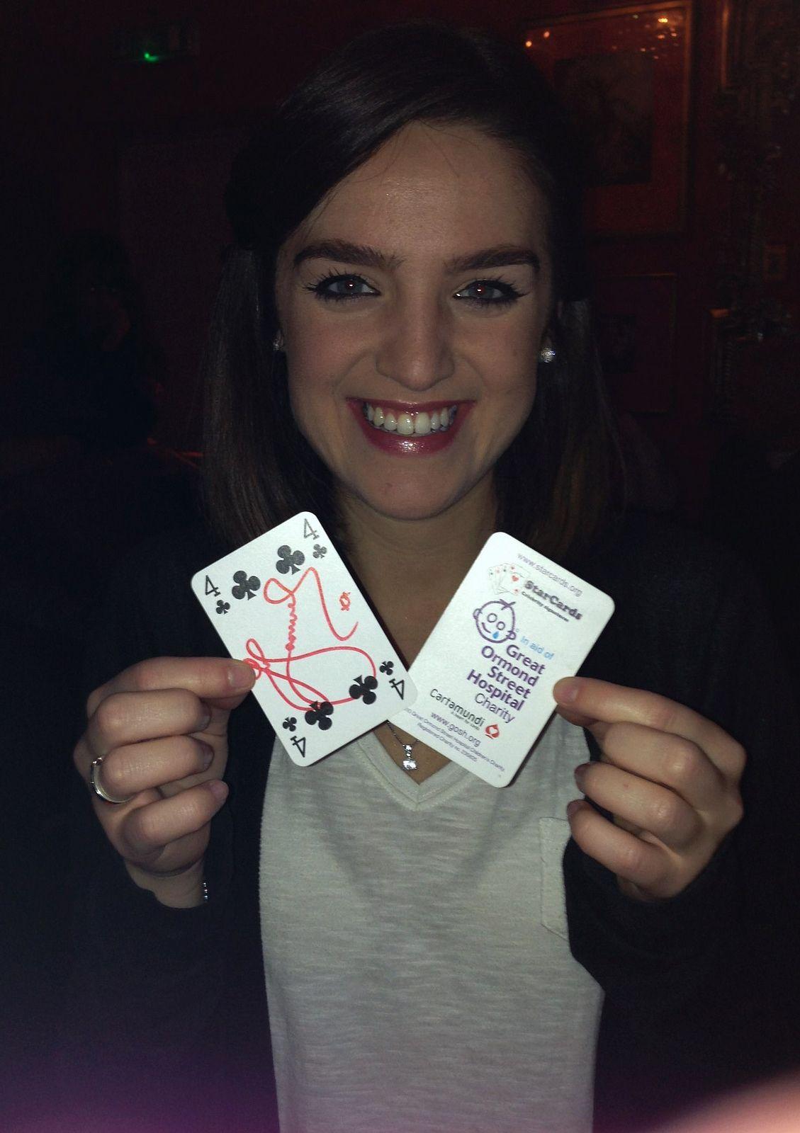 StarCards supporter Lauren Samuels Lauren, Sandy grease