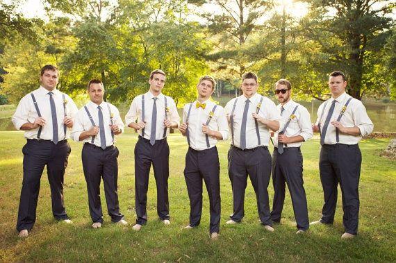 Mens Suspenders Suspenders Wedding Party Suspenders The Dangs