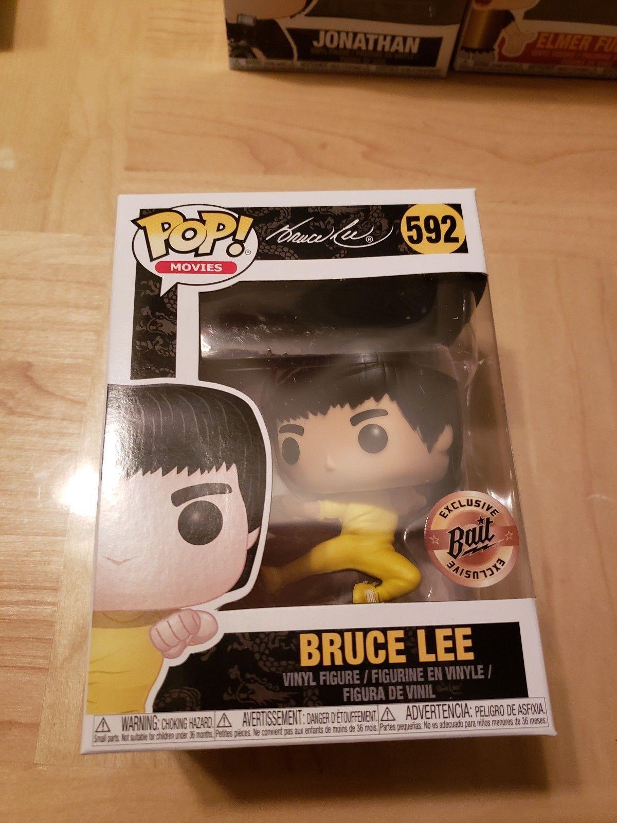 BAIT Funko Pop Bruce Lee Kick Jump NYCC 2018