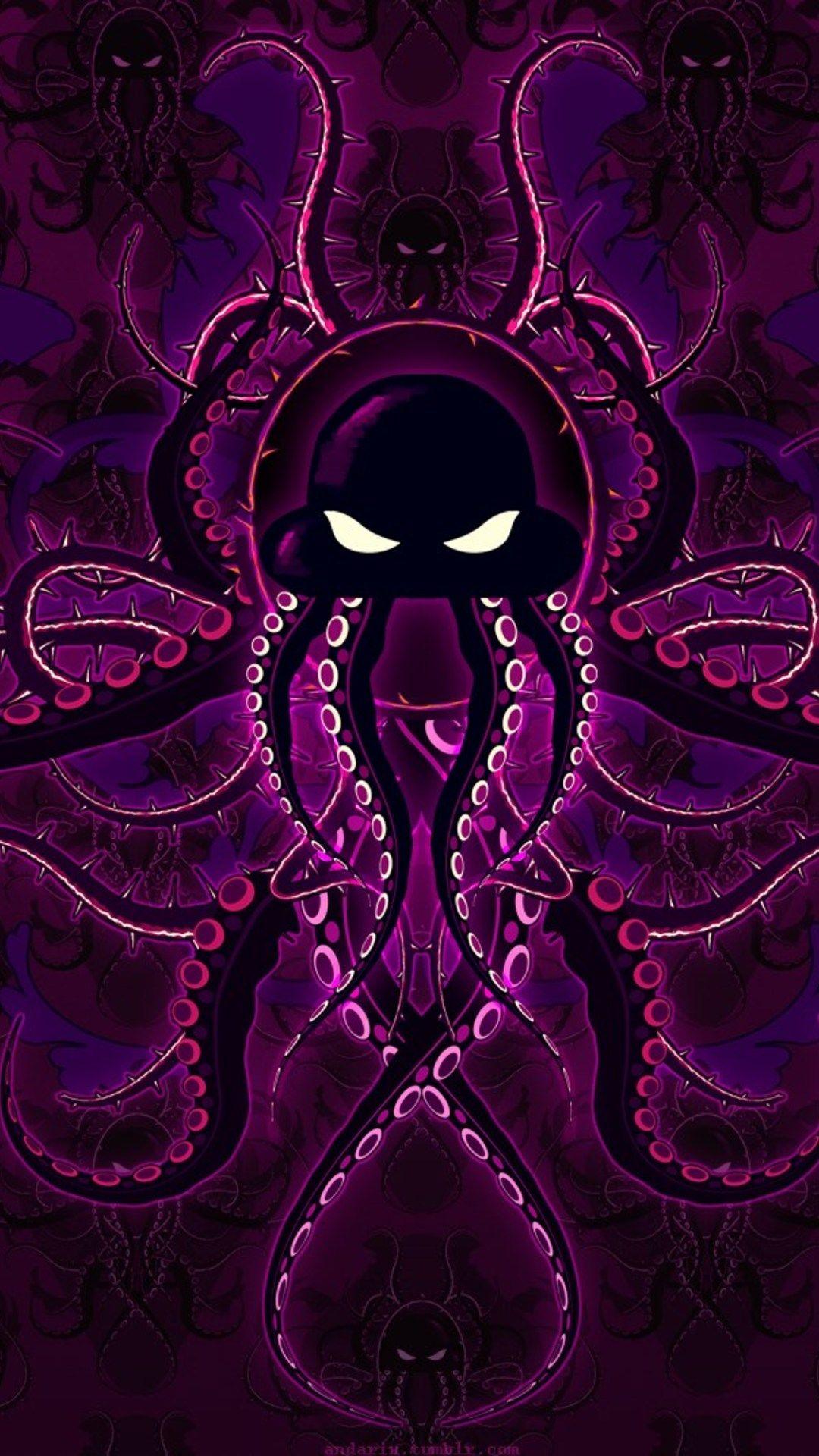 Fractal Art Purple Violet Pink Psychedelic Art