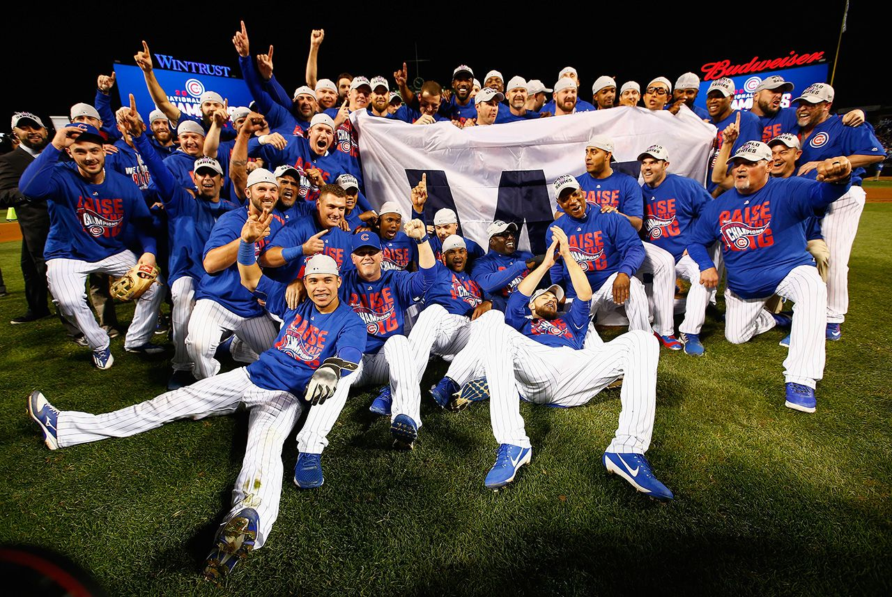 History-making CUBS WIN!