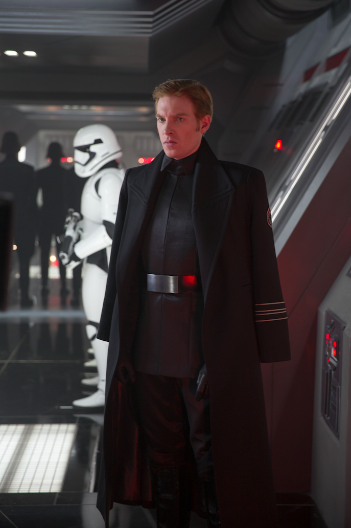 General Hux (played by Domnhall Gleeson) in Star Wars: The Force Awakens | The Cinema Behind Star Wars: Ex Machina | StarWars.com