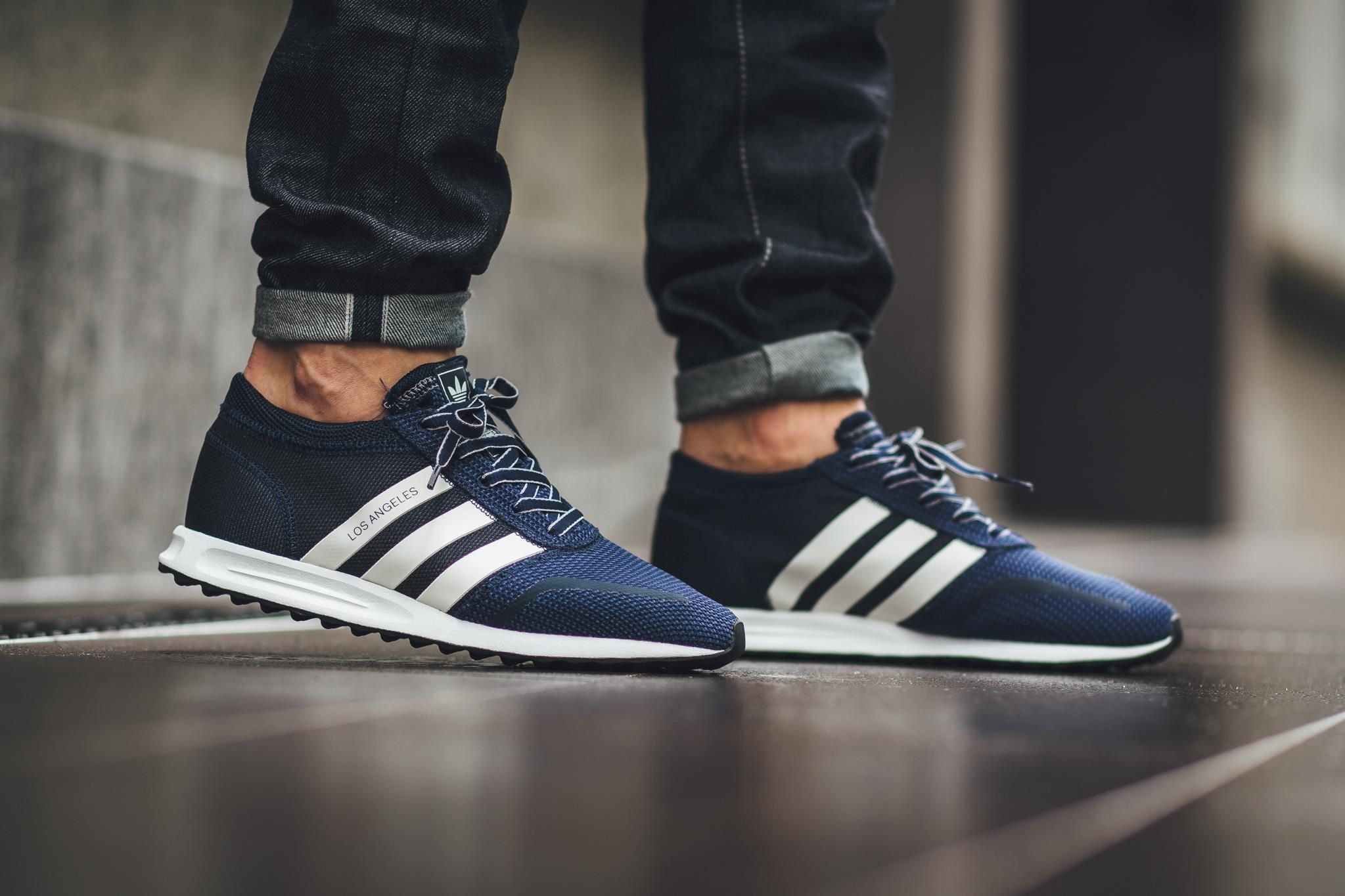 Adidas Los Angeles Blue And White