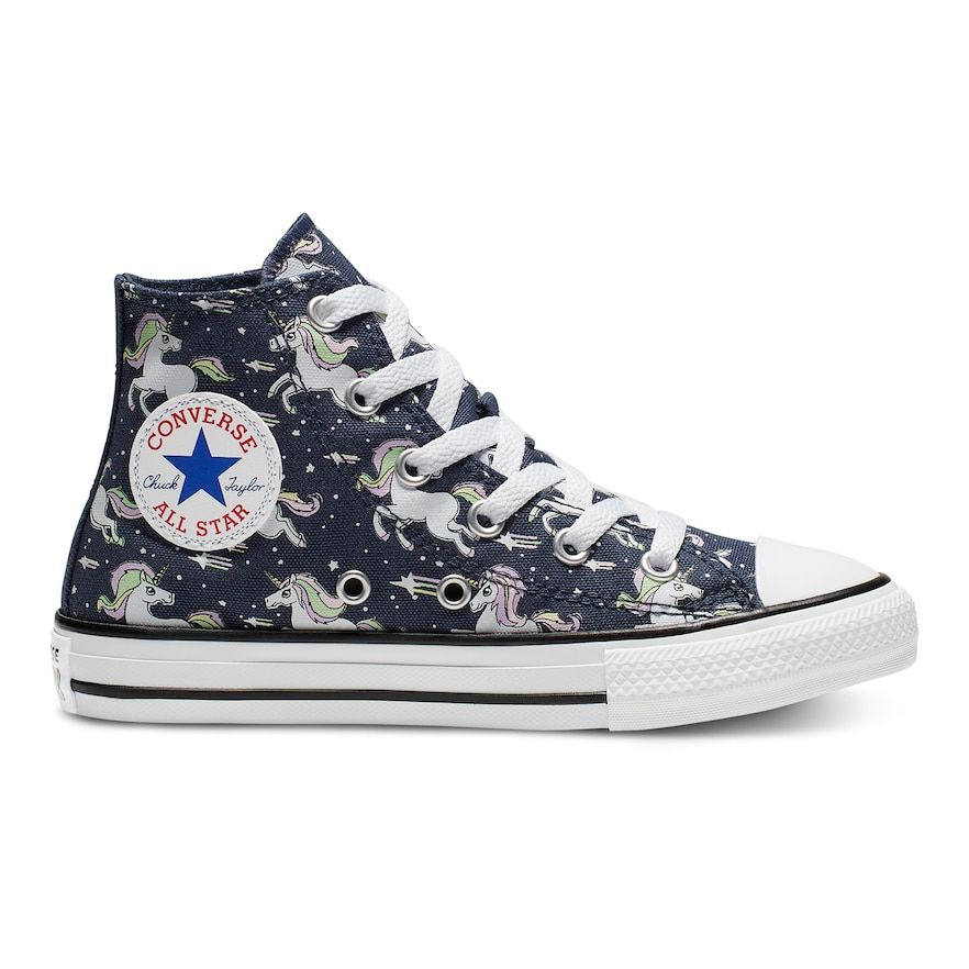 Girls' Converse Chuck Taylor All Star Unicorns High Top