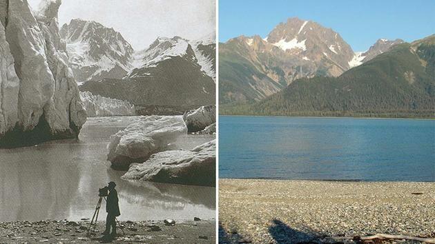 Muir Glacier melt, Alaska.