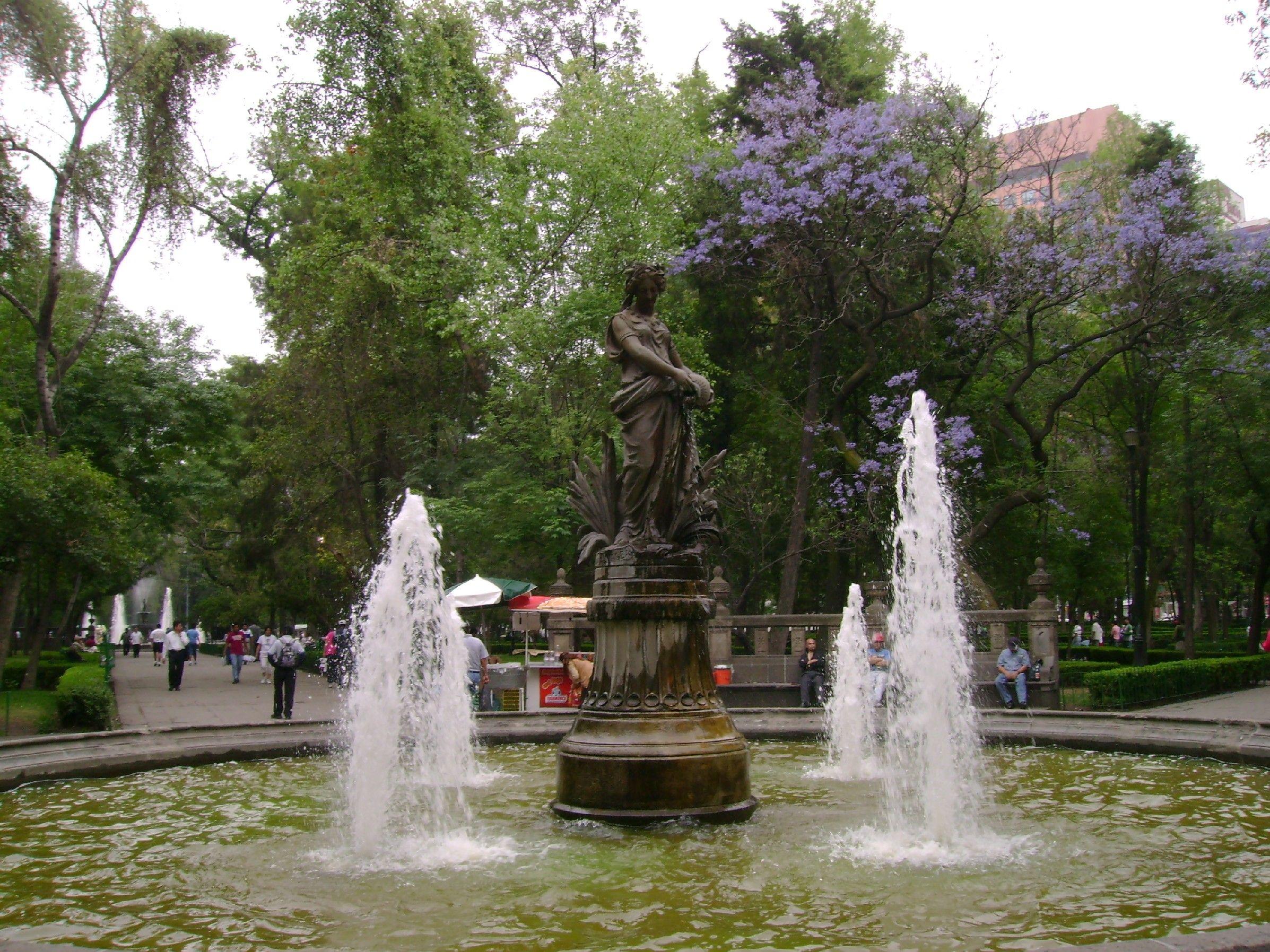Alameda Central, Ciudad de México