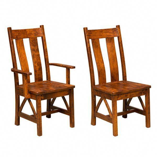 Burgdorf Dining Chair Amish Chairs Furniture At The Shipshewana Co Indiana