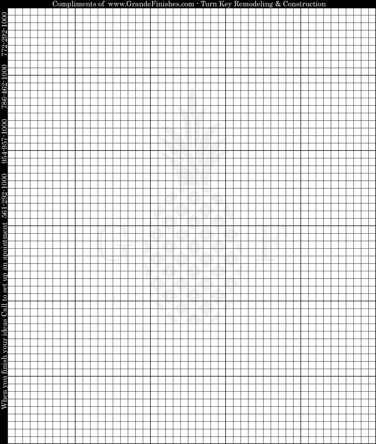 Super Handy [blank Printable Cross Stitch Grid 50 Wide By 60 High]