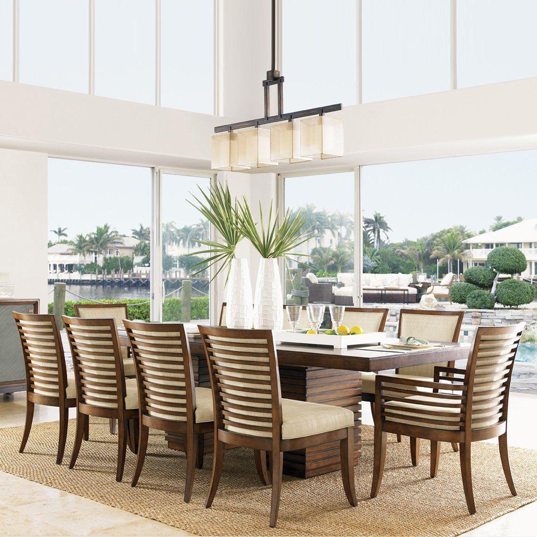Dining Room Furniture Brands: Lexington Home Brands Ocean Club Peninsula Dining Set
