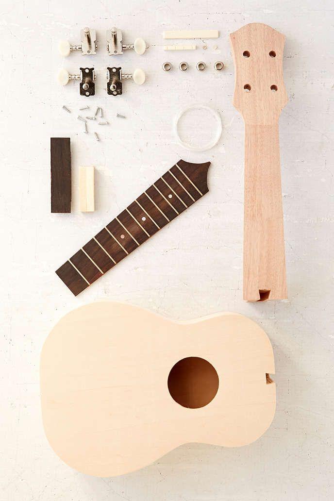 DIY Ukulele Kit - Urban Outfitters   Genius gift. White elephant gifts. Elephant gifts