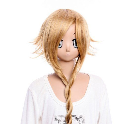 Cosplay wig Hair wig Party wig SOUL EATER Medusa long shine brown wig cosplay wig Costume wig for party by GOOACTION. $25.28. Material : High temperature wire. Length :about 27.55 Inch. Hair Style: Cosplay Wigs. Package:1 PCS. Color : AS PICTURE ,Color Shown: (Color may vary by monitor.). Brand: GOOACTION Recommended features: 1. Super natural wig , suitable for almost every lady aged from teenagers to adults. 2. With the high technology, Miss Beauty wig series are quite soft a...
