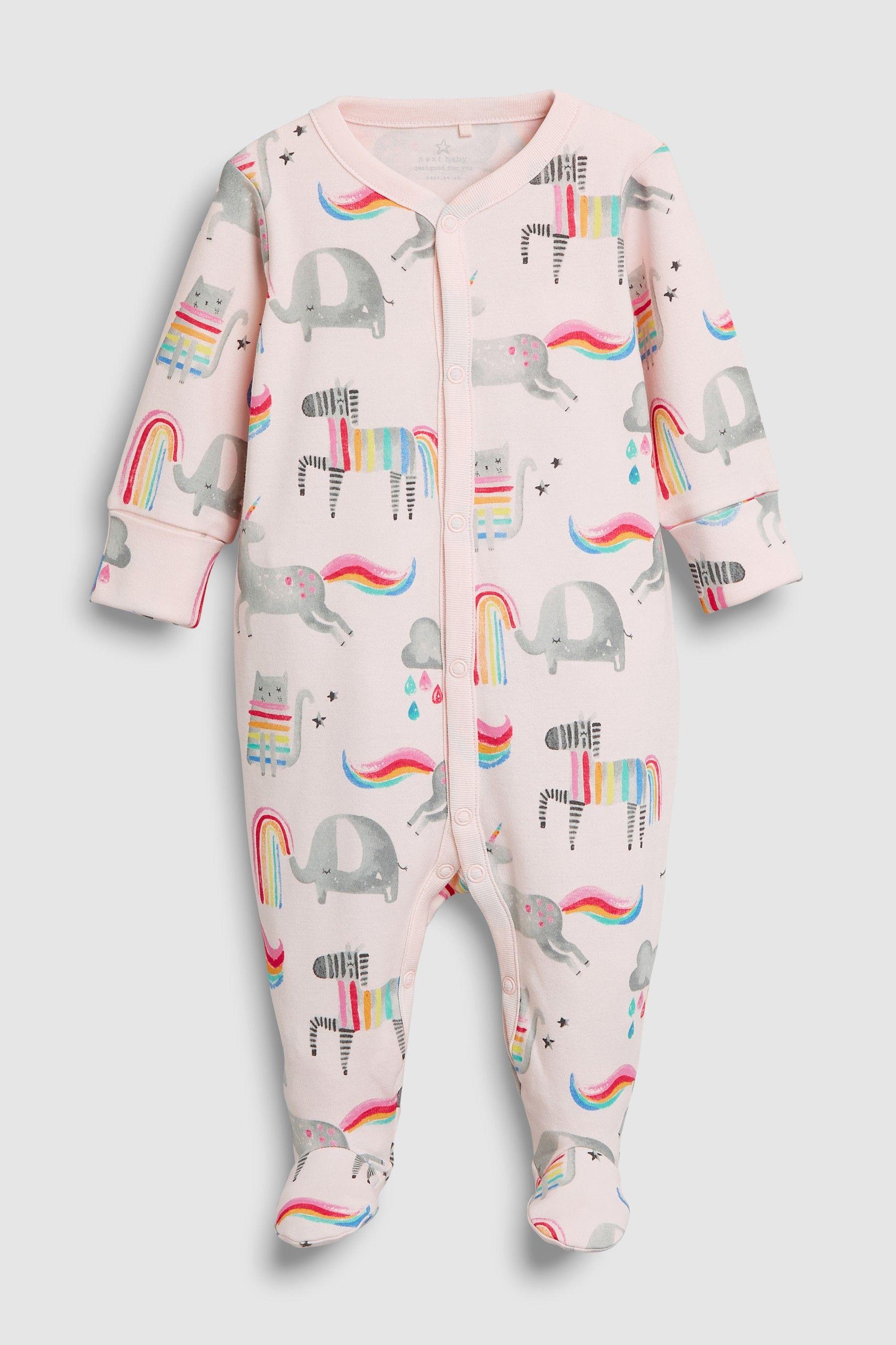 NurseryTime Baby 100/% Baumwolle Strampler Rosa Pink gr 50 56 62 68 Englandmode