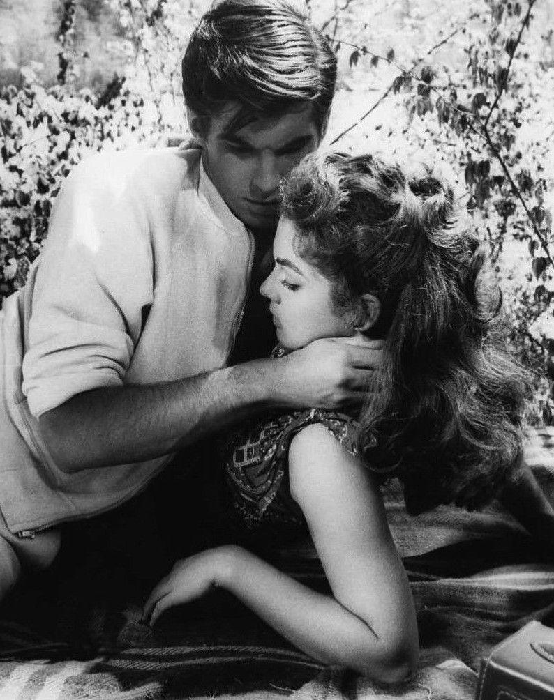 George Hamilton Y Luana Patten En Con él Llegó El Escándalo Home From The Hill 1960 Hamilton
