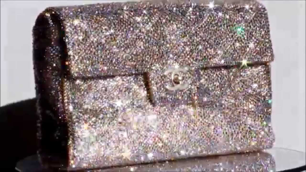 152289515924 Strass Chanel featuring authentic Swarovski Crystal. Custom Strassed by  Sparkle Creations by Tyyon. For
