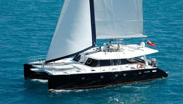 Luxury Crewed Catamaran Charter