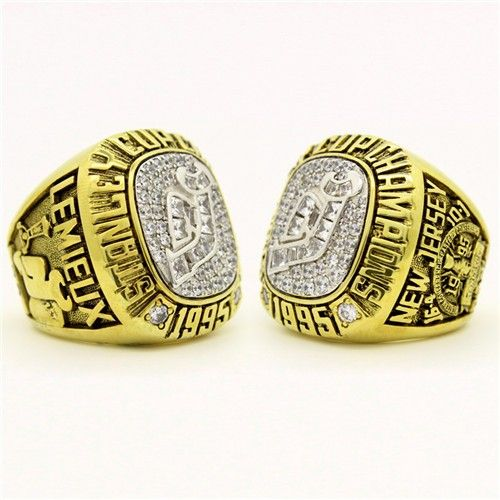 Custom 1995 New Jersey Devils Stanley Cup Championship Ring