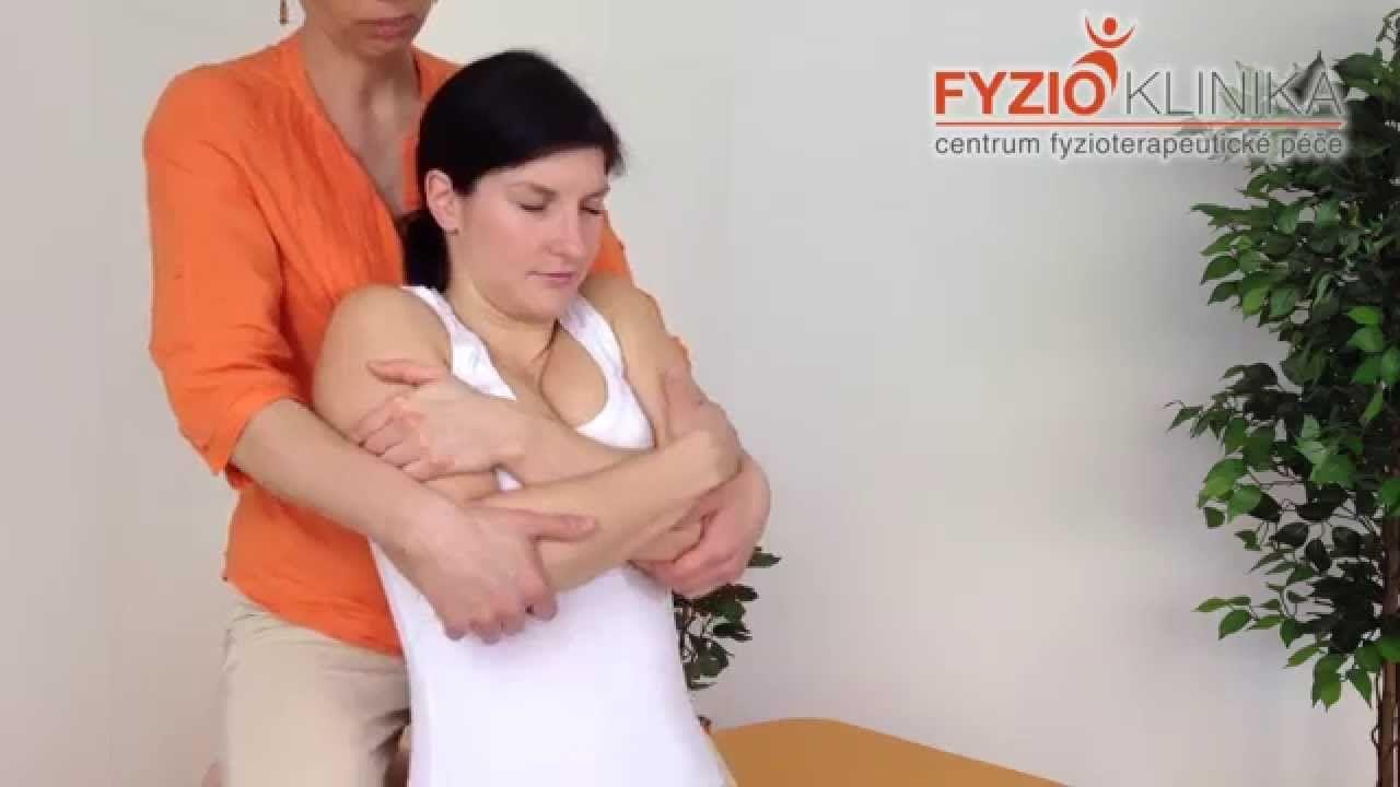 Fyzioterapeutická metoda při akutní blokádě žeber nebo hrudní páteře