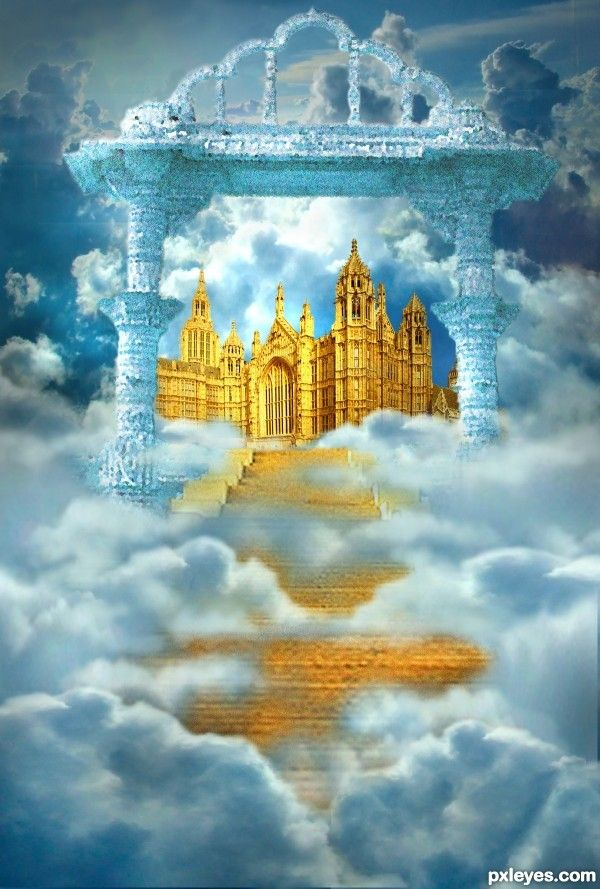 Pin By Chris Lisauckis On Prophetic Art Heaven Art Heaven Pictures Heaven Images