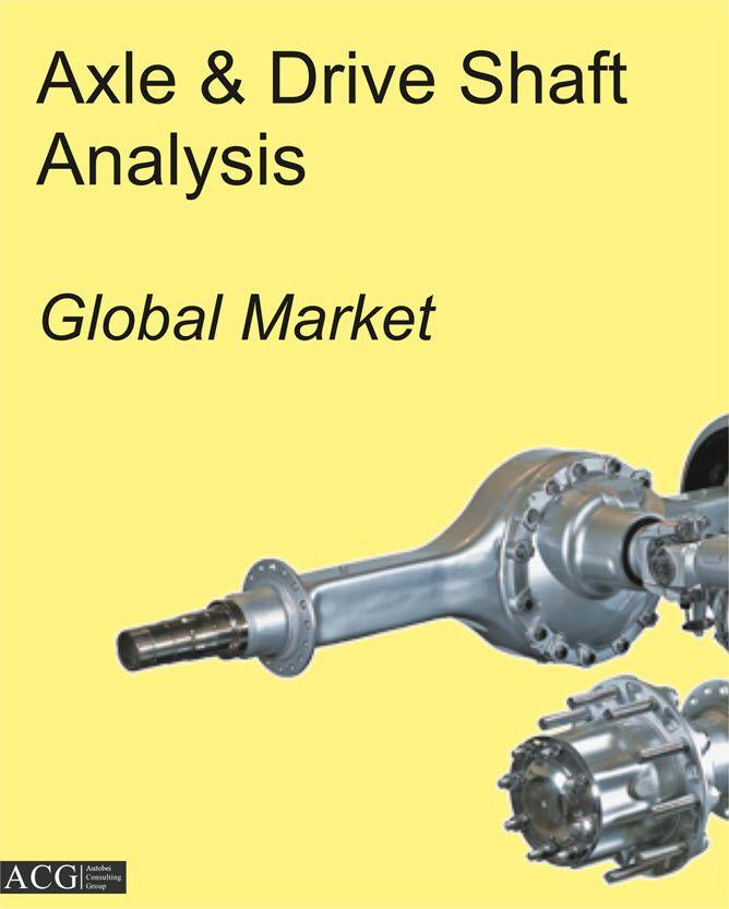 Global Axle Market Analysis 2020 Pinterest - market analysis