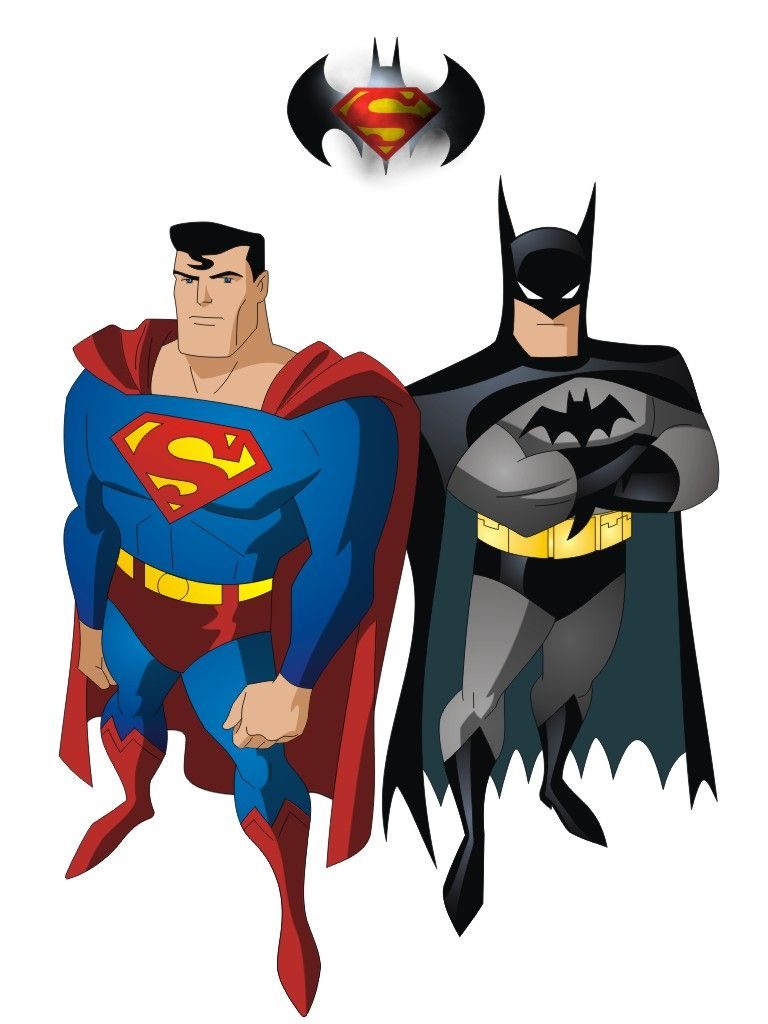 Superman vs batman by on - Superman wonder woman cartoon ...