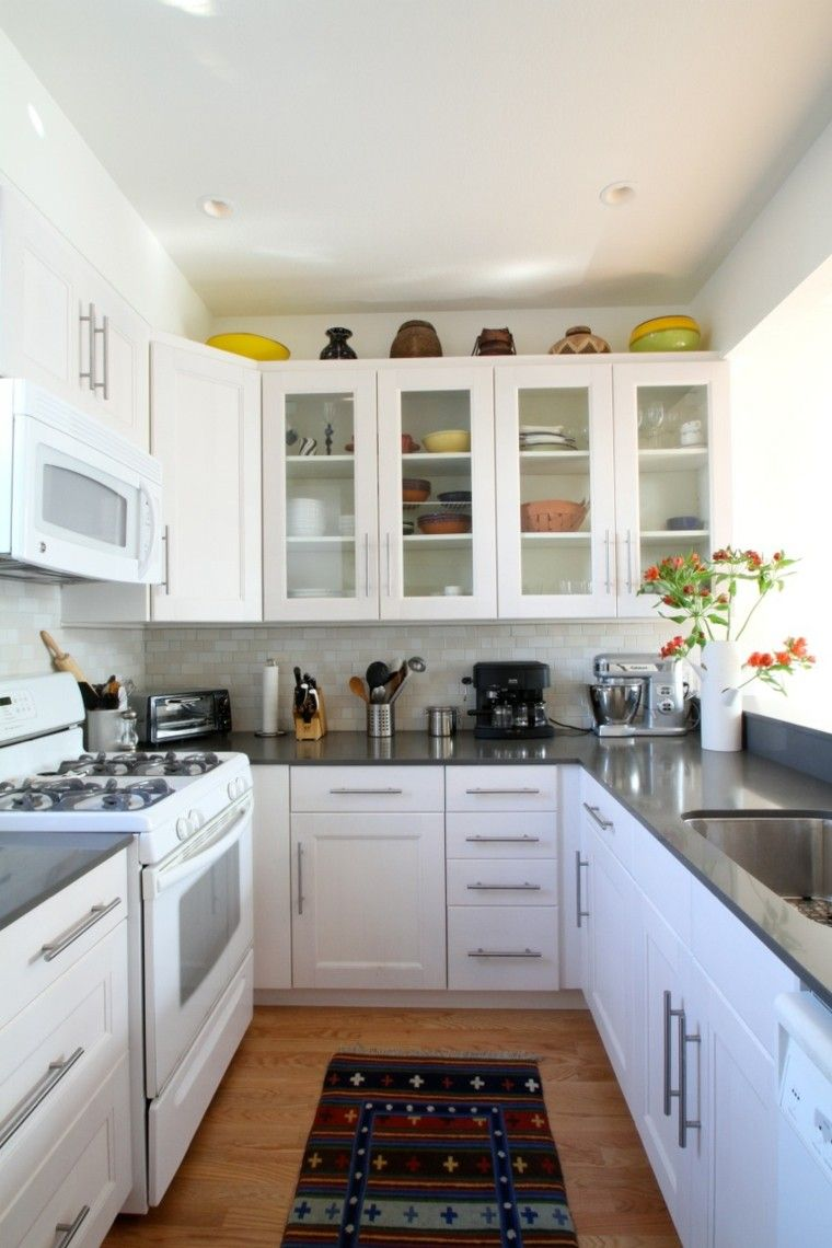 Cocinas peque as de estilo n rdico kitchen pinterest - Estilo de cocinas ...
