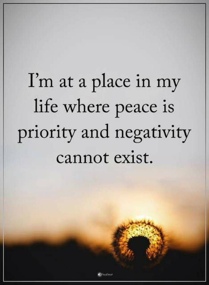 Quotes About Peace Fascinating Quotes I Am At A Place In My Life Where Peace Is Priority And .