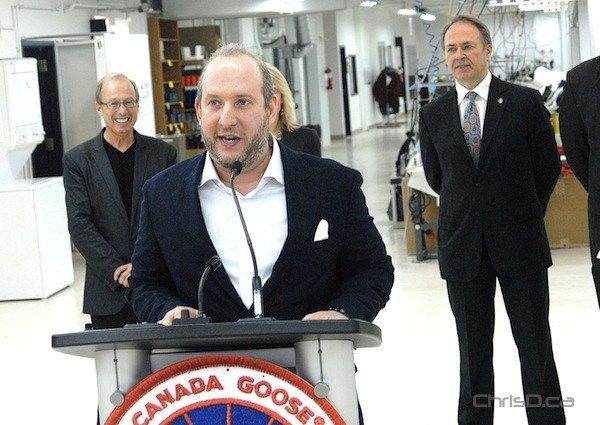 canada goose factory winnipeg address