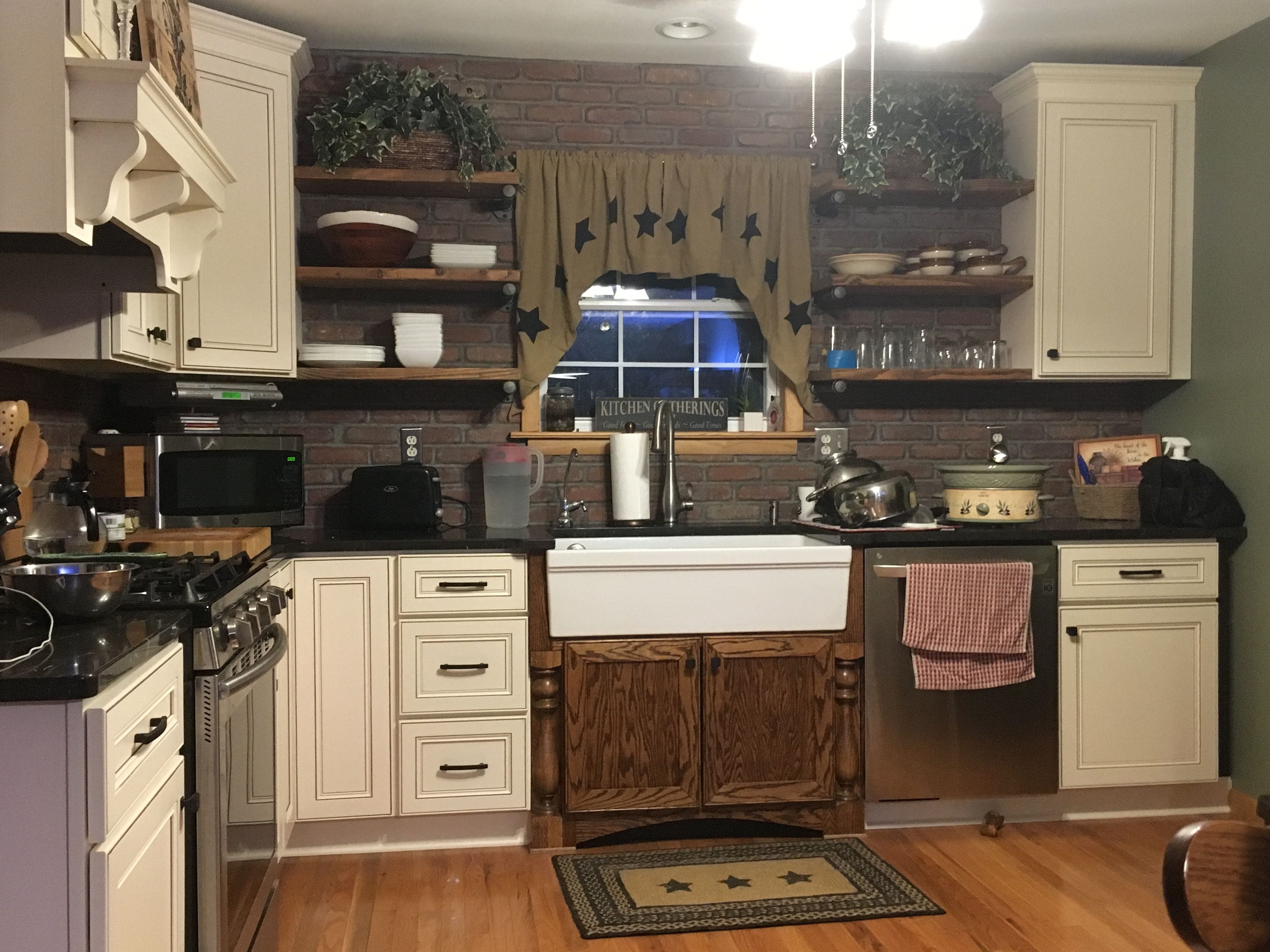 Diy Kitchen Finally Done Lilly Ann Cabinets Work Very Good And Save