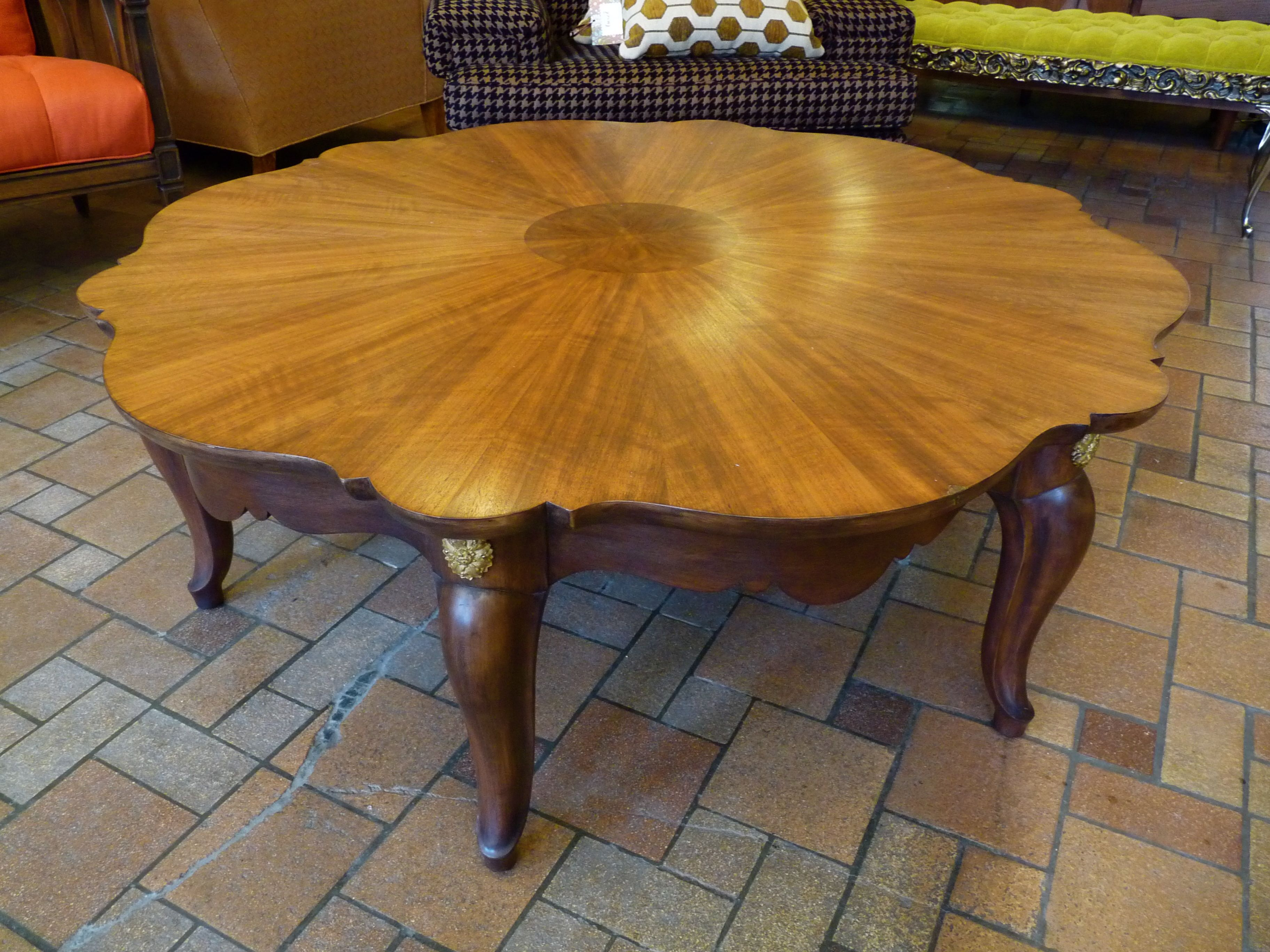 Restored vintage Baker coffee table Twice by Kelly Rauch