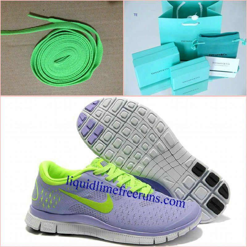 ca7f2d6edb38 Womens Nike Free 4.0 V2 Purple Fluorescence Green Running Shoes ...