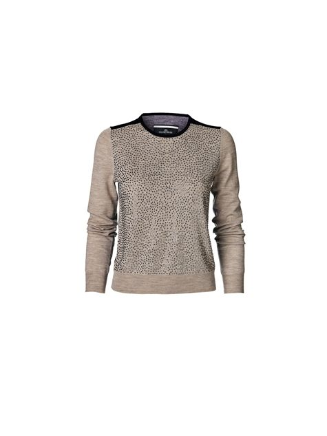 Wasy embellished pullover  Pullover By Malene Birger  Info 1,999.00 DKK