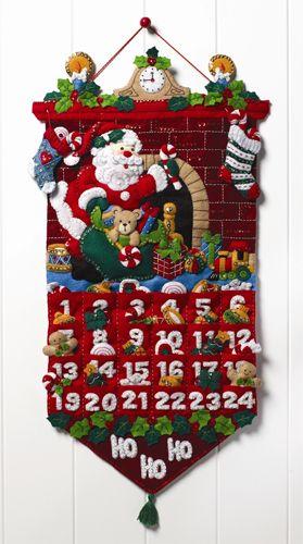 Bucilla ® Seasonal - Felt - Home Decor - Advent Calendar Kits - Must
