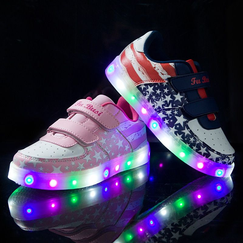 Fashion 7 Colors LED Lighted Shoes