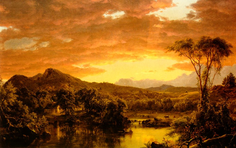 Frederic Edwin Church American Painting Landscape Paintings